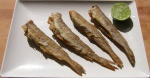 Pescadilla frita