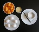 Flan de calabaza - ingredientes