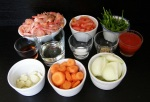 Ingredientes salsa americana