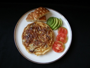 Tortilla de platanitos