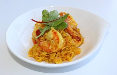 arroz-amarillo-con-camarones